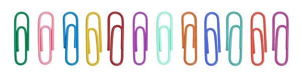 color-paper-clips